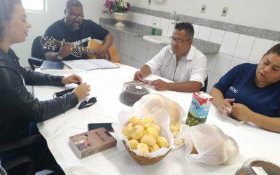Café com fé no Centro de Motomecanização